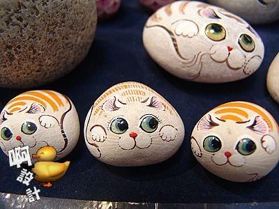 石头彩绘DIY 画出菊岛秋之美