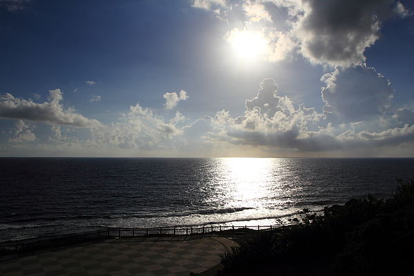 澎湖的吉贝岛 美丽海滩 加上我帅气的弟弟 xd